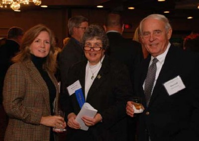 Environmental Partners dinner are: Jacqueline Dickman, EC Dir. of Public Affairs & Development; Marleen Troy, Ph.D., P.E., Associate Professor, Department of Environmental Engineering and Earth Sciences, Wilkes University and EC Board of Directors; and Mike Dziak, EC president/CEO.