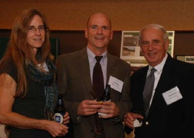 Also attending the 2012 Northeast PA Environmental Partners dinner was: Cydney Faul Halsor; Sid Halsor, Wilkes University; and Mike Dziak, EC President/CEO.