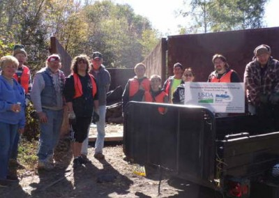 By conducting the cleanups, groups like the Newport Township organization help to improve the environment and quality of life for people living around the region.