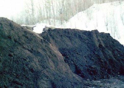 The finished product is a rich fertile compost that can be used by Luzerne County residents and is used on many of EC's projects.