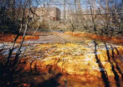 Nanticoke Creek is also impacted by Acid Mine Drainage.