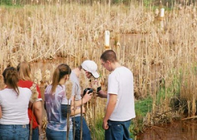 Outdoor excurtions allow students to experience what they learn in the classroom.