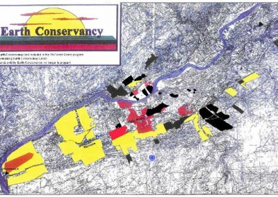The Earth Conservancy hunting map can be downloaded and printed.