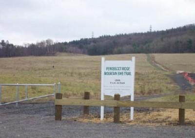 The Penobscot Ridge Biking Trail has picnic tables and grills.