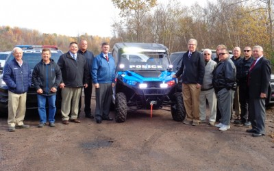 EC Supports Purchase of New ATV for Newport Township Police Department