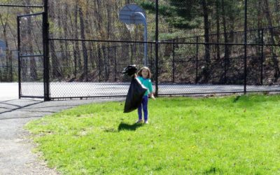Earth Day Cleanup at Sugar Notch Playground