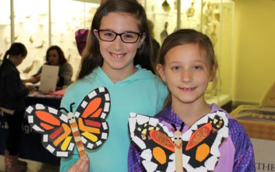 """EC at the Everhart Museum for """"Art in Bloom"""""""
