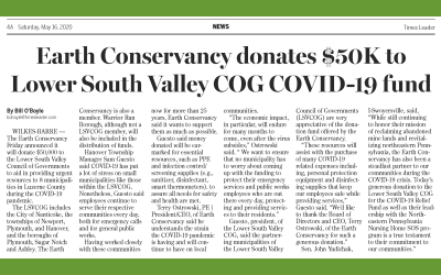 EC Donates $50,000 to Lower South Valley COG for COVID-19 Assistance