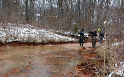 Levelloggers Installed on the Nanticoke Creek, Supported by ARIPPA, EPCAMR