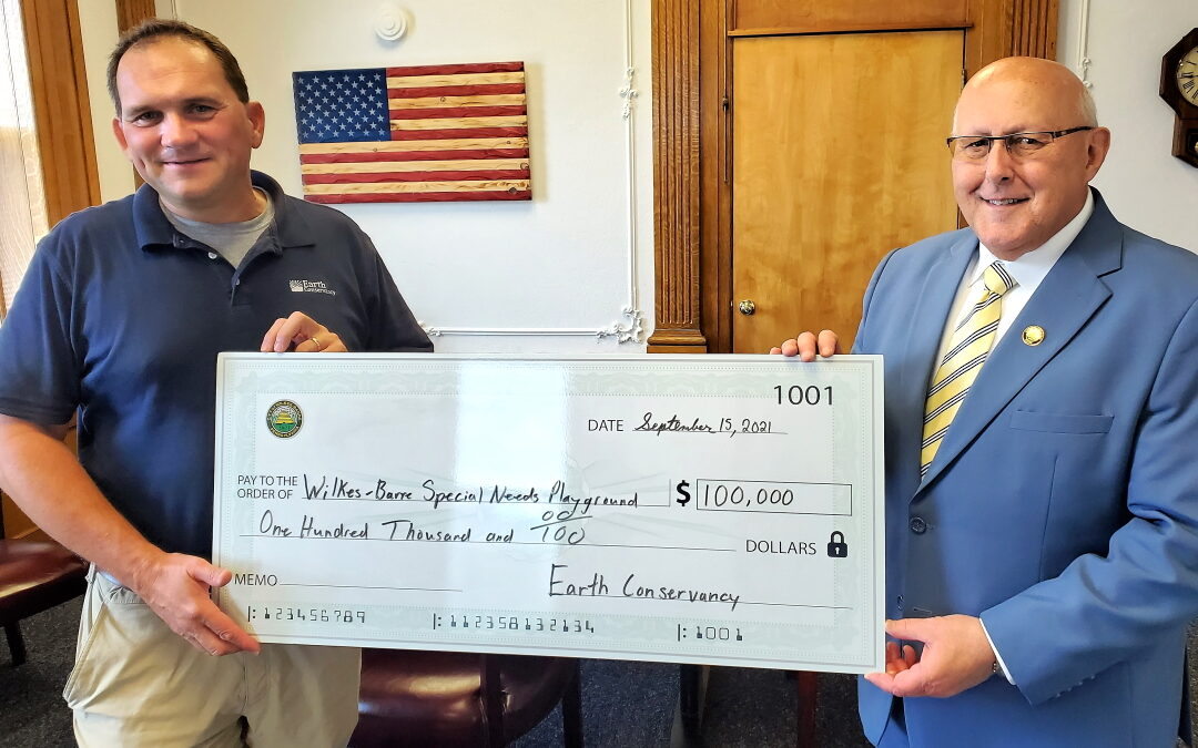 EC Contributes $100,000 to Wilkes-Barre Special Needs Playground Project